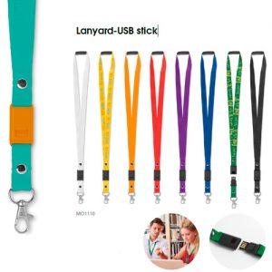 MO1110 Lanyard-USB stick
